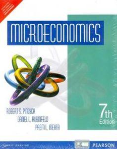 Microeconomics 7th Edition - Pindyck et al - University of Cambridge