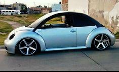 Bug Audi Gt, Vw Fox, Volkswagen New Beetle, Beetle Convertible, Triumph Spitfire, Vw Bugs, Aesthetic Design, Custom Wheels, Sweet Cars