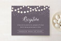 Illustrative, Rustic, Purple, Gold Reception Cards From Minted By Independent Artist Hooray Creative. Save The Date Postcards, Save The Date Magnets, Tree Wedding, Rustic Wedding, Forest Wedding, Wedding Ideas, Mint Garden, Denim And Diamonds, Foil Stamped Wedding Invitations