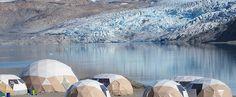 Le meraviglie della Groenlandia - permanenza nell'accampamento di Qaleralik, situato alla base di un meraviglioso fronte glaciale, dove potremo essere testimoni del rumore prodotto dai seracchi e dal distaccamento dei blocchi di ghiaccio;