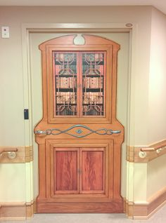 New Alzheimer Wing Of Long Term Care Facility Door Is