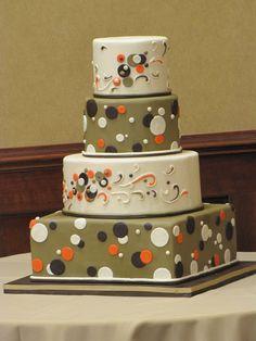 Fun and Flirty Polka Dot cake
