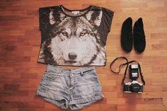wolf shirt <3