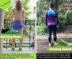 Mindent a futásról nőknek (és másoknak...): Salming Speed és Salming Race futócipő - TESZT