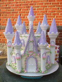 castle cake GlamLuxePartyDecor: FREE SHIPPING! Creative, Unique, Personalized Glamorous Designer Party Decorations and keepsakes. Theme party Decor packages. 1st Birthday parties, pink princess tutu, weddings, christenings, holiday celebration, bridal shower, babyshower, bachelorette, Super Bowl, etc. #jacquelineK