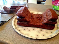 BMX cake instructions