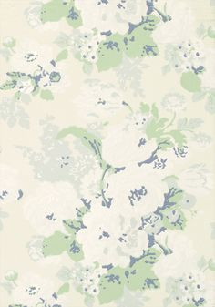 BOUQUET, Cream/Green, AT10091, Collection Wild Flora from Anna French