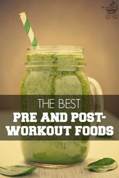 The perfect pre and post-workout foods to get the most out of your sweat session! | Fit Bottomed Mamas