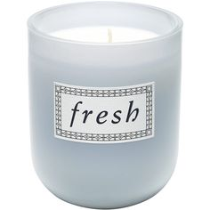 Fresh Fresh Life™ Scented Candle (770 ARS) ❤ liked on Polyvore featuring home, home decor, candles & candleholders, fillers, candles, blue fillers, decor, blue candles, scented candles and fragrance candles