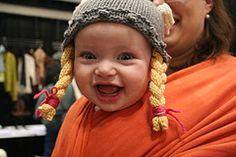 Ravelry: Viking Girl Hat pattern by Sarah Fama