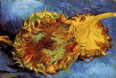 Vincent van Gogh - Dos girasoles