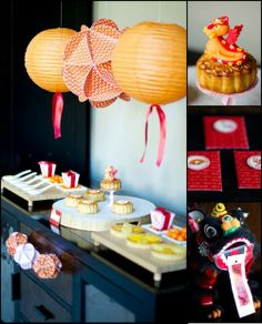 Chinese New Year Ideas #Party #Festive