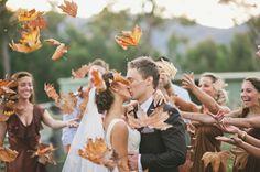 Pour un mariage d'automne | Déco Mariage | Queen For A Day - Blog mariage