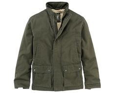 Men's Ragged Mountain Fleece-Lined Barn Coat