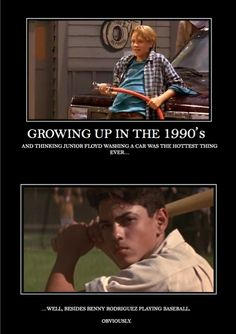 Little Giants and The Sandlot. So good...so very very good.