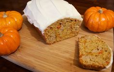 Cooking with Jax: Pumpkin Carrot Spice Loaf w/ Cream Cheese Icing