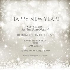 Kiss In The New Year Printable Invitation Template Customize Add