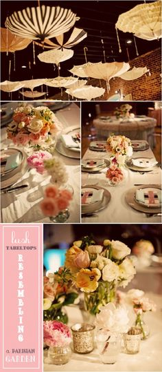 Love the umbrellas for the 'shower' so pretty and clever!  BABY SHOWER} PARISIAN CIRCUS SOIREE