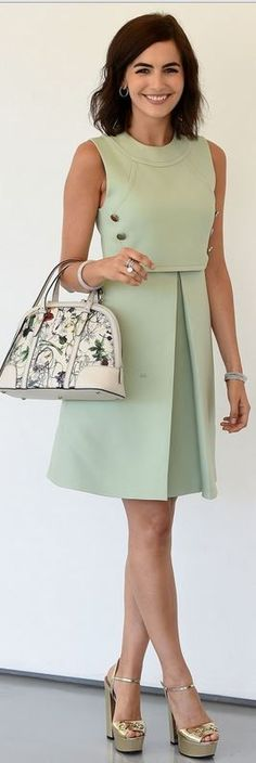 green dress Outfit Ideas