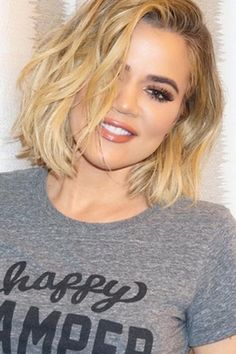 Khloe Kardashian Finally Tries Out *Short* Short Hair With An Above The Shoulder Cut, 2016