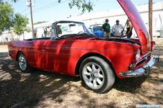 1965 Sunbeam Tiger. As seen at the September 2011 Cars and Coffee Austin TX.