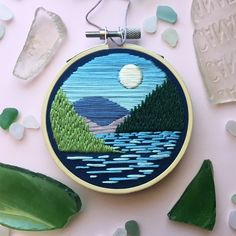 We are going to teach satin stitch today. it's a wonderful hand embroidery design. So lets begin to learn satin stitch d Crewel Embroidery Kits, Hand Embroidery Tutorial, Embroidery Flowers Pattern, Embroidery Designs, Embroidery Supplies, Rose Embroidery, Contemporary Embroidery, Modern Embroidery, Simple Embroidery