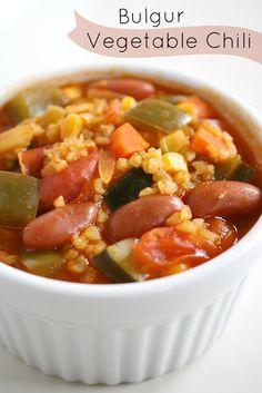 Bulgur Vegetable Chili