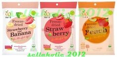 Freeze Dried Strawberry+Banana +Peach Good for life Health*YAMMY*  $10