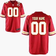Kansas City Chiefs Customized Jersey