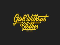 Girls Without Clothes