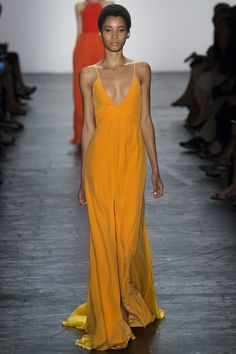Prabal Gurung Spring 2016 Ready-to-Wear Fashion Show - Jamilla Hoogenboom