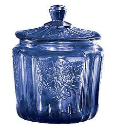 Miles Kimball Cobalt Blue Depression Style Glass Biscuit ... https://www.amazon.com/dp/B008E07CPY/ref=cm_sw_r_pi_dp_vIvDxbKPN4FYK