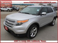 2014 Ford Explorer FWD 4dr Limited at Certified Used Cars by Pollard in Lubbock Texas & 2014 Ford Explorer FWD 4dr Limited at Certified Used Cars by ... markmcfarlin.com