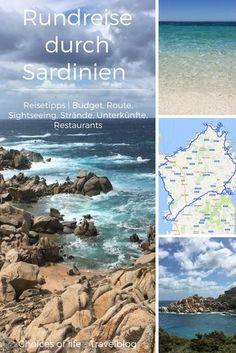 Rundreise Sardinien – Tipps für tolle Strände, Ausflugsmöglichkeiten, Unterkünfte & Restaurants mit einer Kostenkalkulation und wertvollen Hinweisen zu eurer Reiseroute.