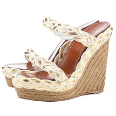 Shoes - Wedges on Pinterest | Wedge Sandals, Wedges and Espadrille ...