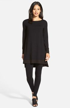 Eileen Fisher Jersey Layering Tunic | Nordstrom