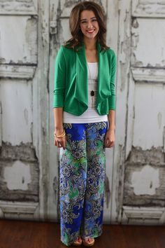 Green Blazer - www.zigzagstripe.com- enter code ZZS145 @ checkout for 10% off and free shipping