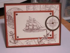 Stampin'Up  The Open Sea Stamp Set ..Scrap Rx