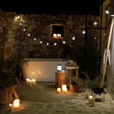 No candles no home Natural Living, Led Candles, Cool Pools, Ibiza, Diy And Crafts, Sweet Home, Room Decor, Pool Fun, Balcony