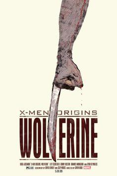 X-Men Origins: Wolverine - movie poster - Duke Dastardly