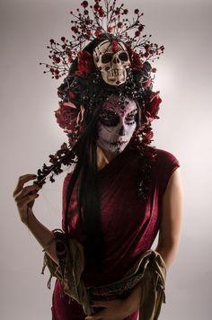 Photographer:Basil Magpie - Visual RinseWardrobe:Glass Magpie ApparelHeadpiece:Miss G DesignsMakeup:Roxy ContinModel:Alicia Vigil