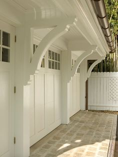 Garage And Shed Design, Pictures, Remodel, Decor and Ideas By Lasley Brahaney Architecture Shed Design, Garage Design, Exterior Design, House Design, Garage House, Car Garage, Dream Garage, Garage Room, Mechanic Garage