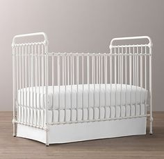 Kennedy Iron Crib   Restoration Hardware Baby & Child