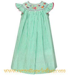 Anavini Smocked Colorful Fish Bishop Dress (I LOVE this color!)