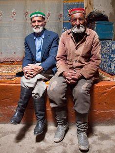 Old friends . Tajikistan