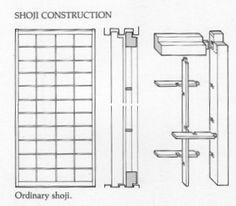Traditional Japanese Houses Architecture Drawings | Build a Japanese Tea House - shoji