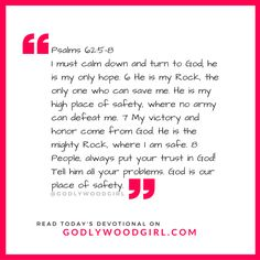 Today's Daily Devotional for Women - Be who God made you to be. Read it now: http://godlywood-girl.myshopify.com/blogs/dailydevotionals/118128003-todays-daily-devotional-for-women-be-who-god-made-you-to-be