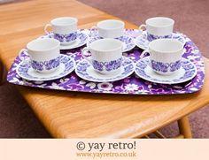 Love Purple, Love Vintage! - Retro and Vintage China, Glassware and Kitchenalia - yay retro!