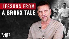 Lessons From A Bronx Tale with Chazz Palminteri, Robert De Niro |Michael... Michael Franzese, A Bronx Tale, Movie Stars, Youtube, Movies, Life, Robert De Niro, Films, Film Books