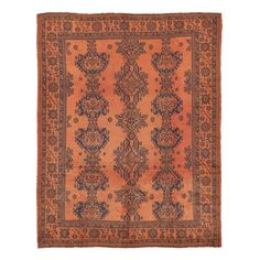 Antique Oushak Wool Rug on sale @abccarpet
